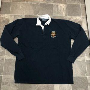 Men's vintage oxford university rugby shirt sz XXL